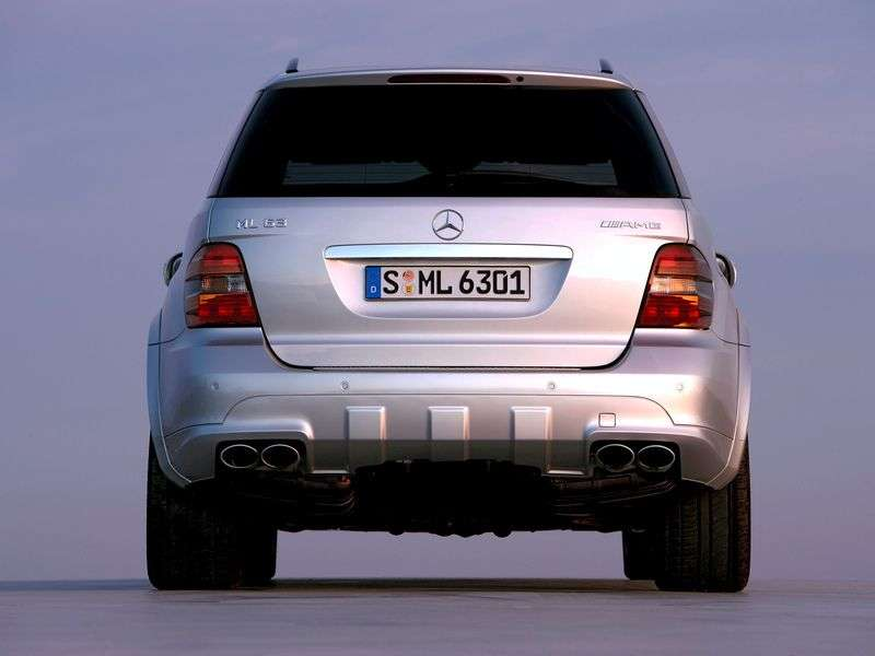 Mercedes Benz M Class W164 crossover ML 500 AT (2005–2008)