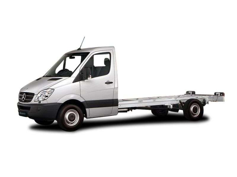 Mercedes Benz Sprinter W906 chassis 2 bit. 309 CDI MT Short Base Base (2006–2011)