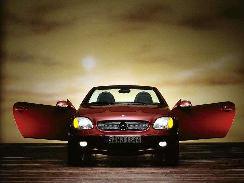 Mercedes Benz SLK Class R170 [restyling] SLK 200K AT roadster (2000–2004)