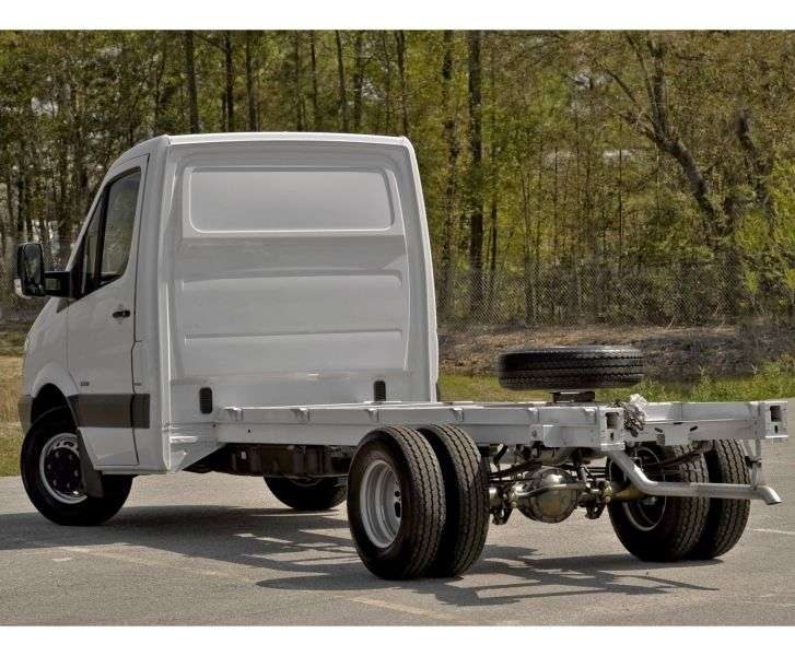 Mercedes Benz Sprinter W906 chassis 2 bit. 316 CDI MT Short Base Base (2006–2013)