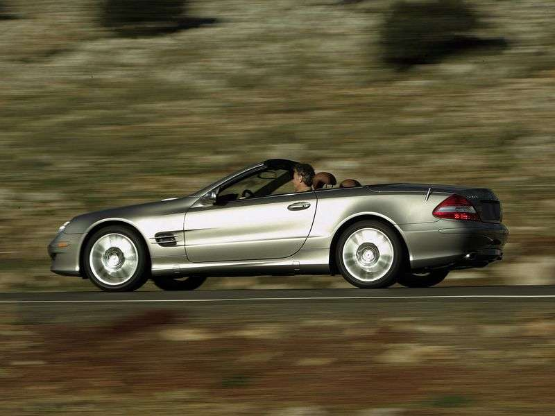 Mercedes Benz SL Class R230rodster SL 600 AT (2006–2008)