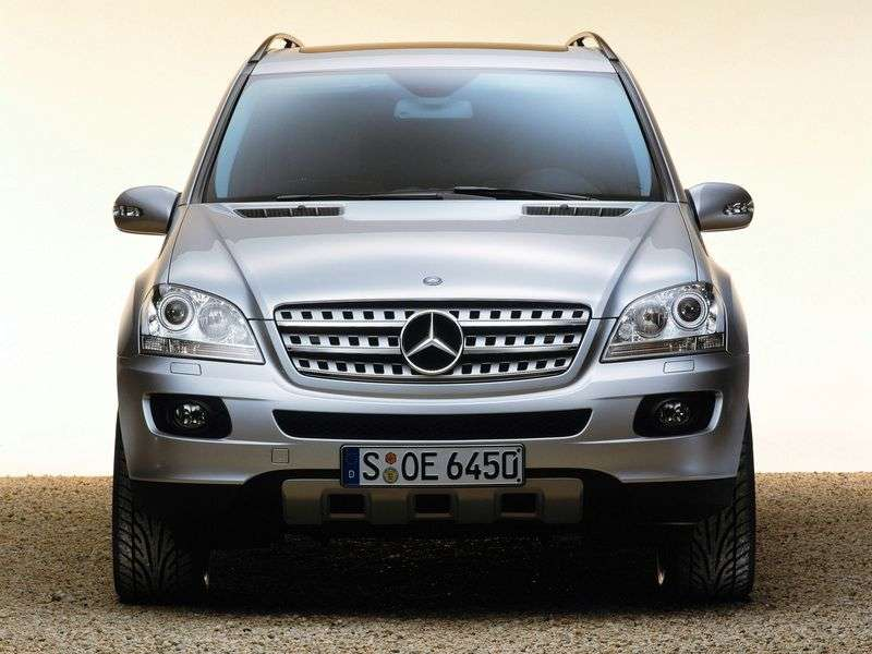 Mercedes Benz M Class W164 crossover ML 280 CDI AT (2005–2008)