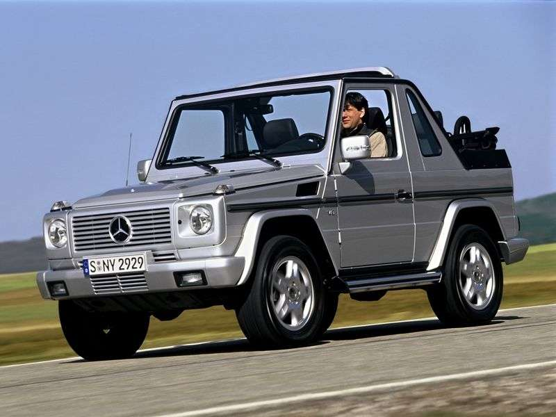 Mercedes Benz G Class W463 cabrio SUV 3 dv. G 400 CDI AT (2000–2006)