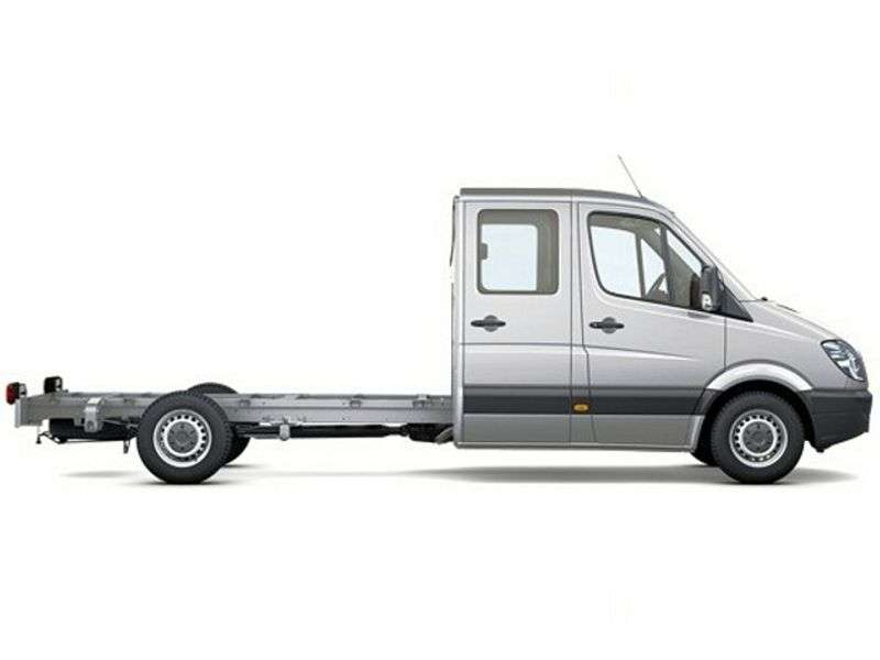 Mercedes Benz Sprinter W906 chassis 4 bit. 309 CDI MT long base base (2006–2013)