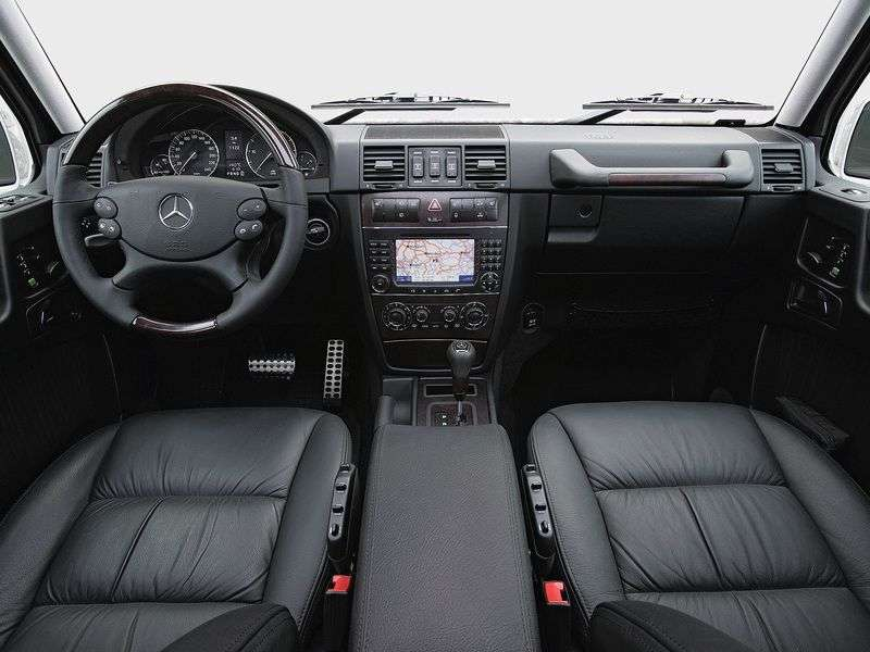 Mercedes Benz G Class W463 [restyling] SUV 5 dv. G 500 AT Basic (2008–2012)
