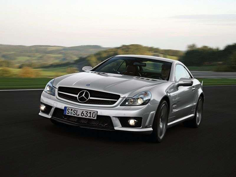 Mercedes Benz SL Class R230 [restyling] AMG roadster 2 dv. SL 63 AT AMG Basic (2008–2012)