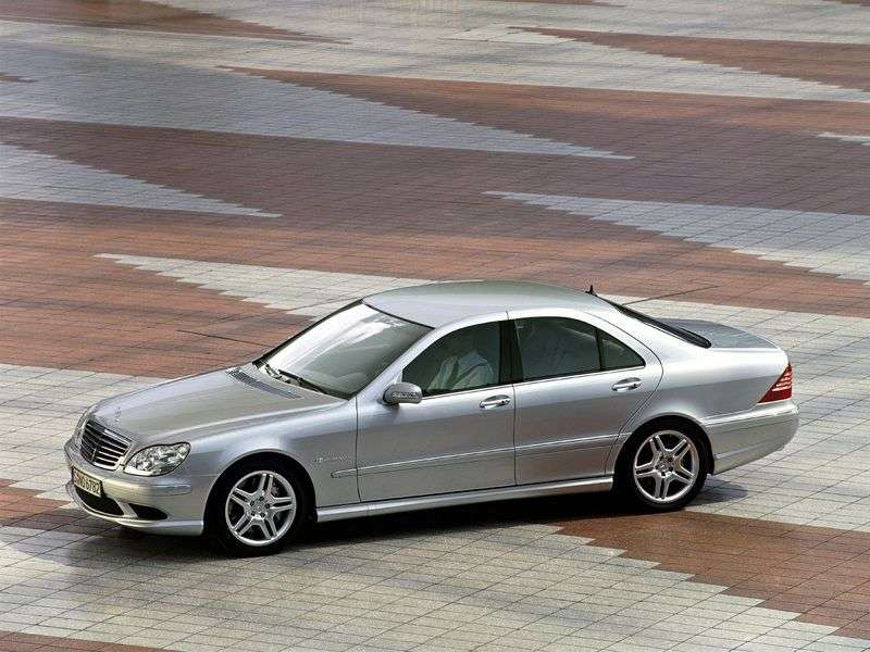 Mercedes Benz S Class W220 [restyling] S 430 L AT sedan (2002–2005)