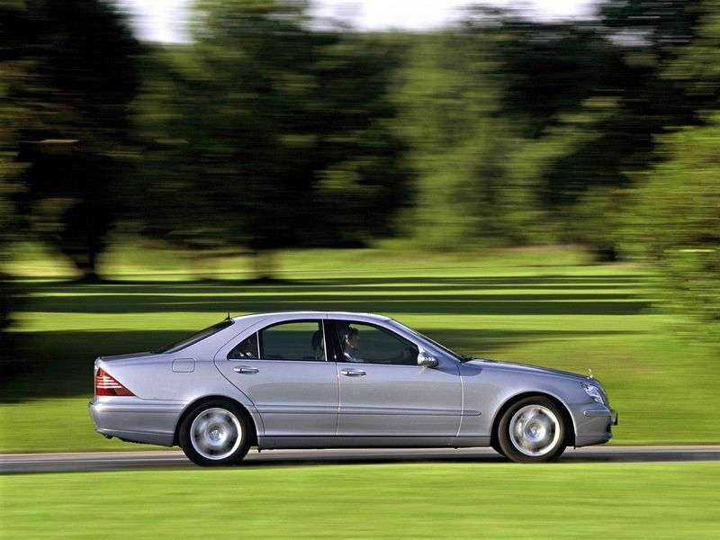 Mercedes Benz S Class W220 [restyling] S 350 L AT sedan (2002–2005)