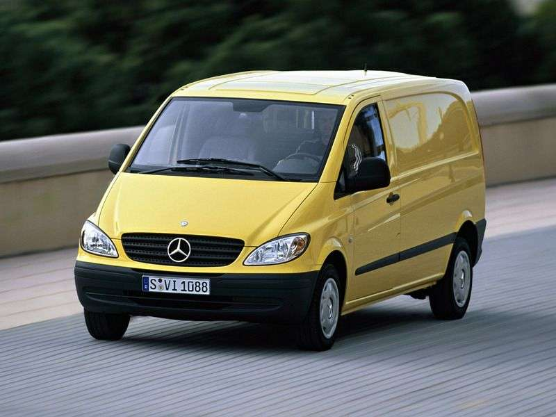 Mercedes Benz Vito W639 van 111 CDI AT L1H1 (2003–2010)