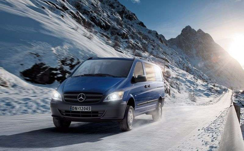 Mercedes Benz Vito W639 [restyling] mixto 4 bit minibus 116 CDI 4MATIC AT (2010 – N.)