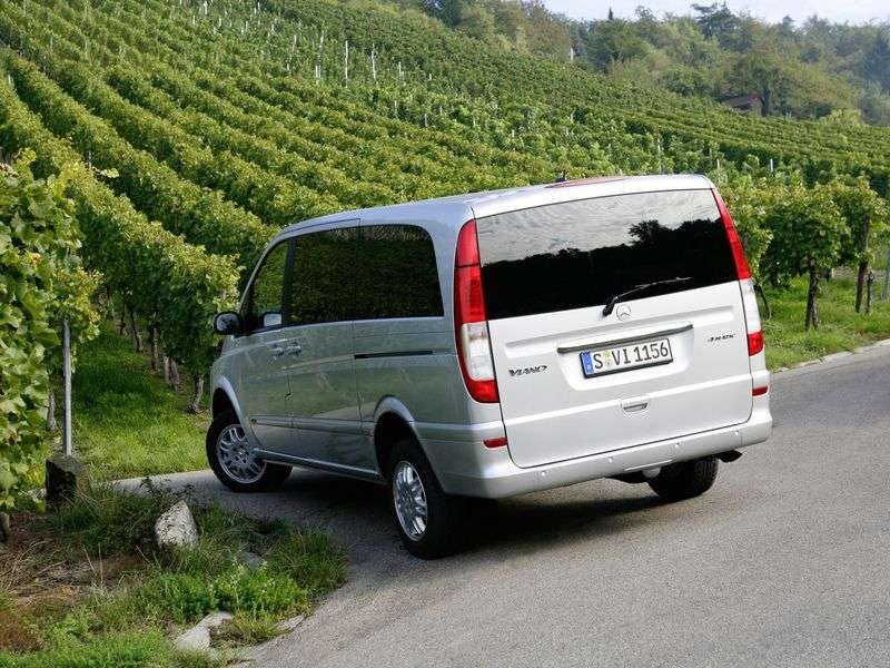 Mercedes Benz Viano W639 minivan 3.5 AT (2003–2010)