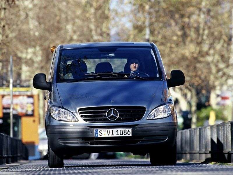 Mercedes Benz Vito W639 Minibus 115 CDI AT L1H1 (2003–2010)