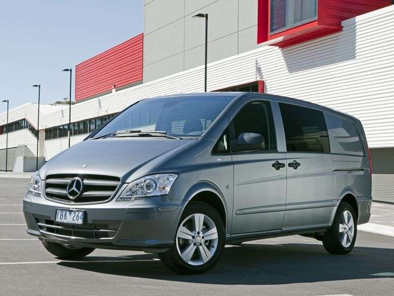 Mercedes Benz Vito W639 [restyling] mixto 4 bit minibus 126 AT (2010 – n. In.)