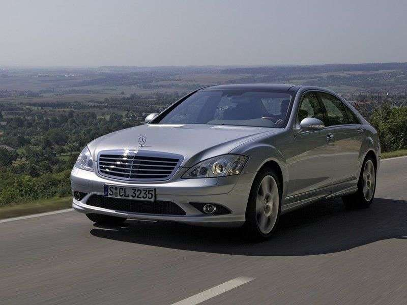 Mercedes Benz S Class W221Sedan S 500 L AT 4MATIC (2005–2009)