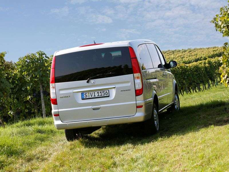 Mercedes Benz Viano W639 Minivan 2.2 CDi 4MATIC Long AT (2003–2010)