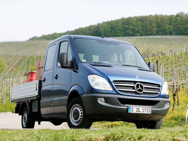 Mercedes Benz Sprinter W906 board 4 bit. 309 CDI MT Short Base Base (2006–2009)