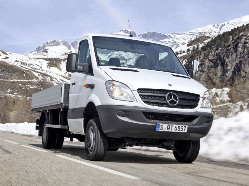 Mercedes Benz Sprinter W906 board 2 bit. 318 CDI MT long base base (2006–2009)