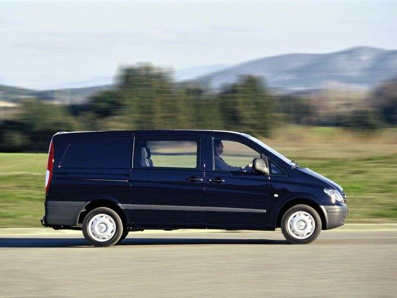 Mercedes Benz Vito W639Mixto box 126 AT L3H1 (2003–2010)