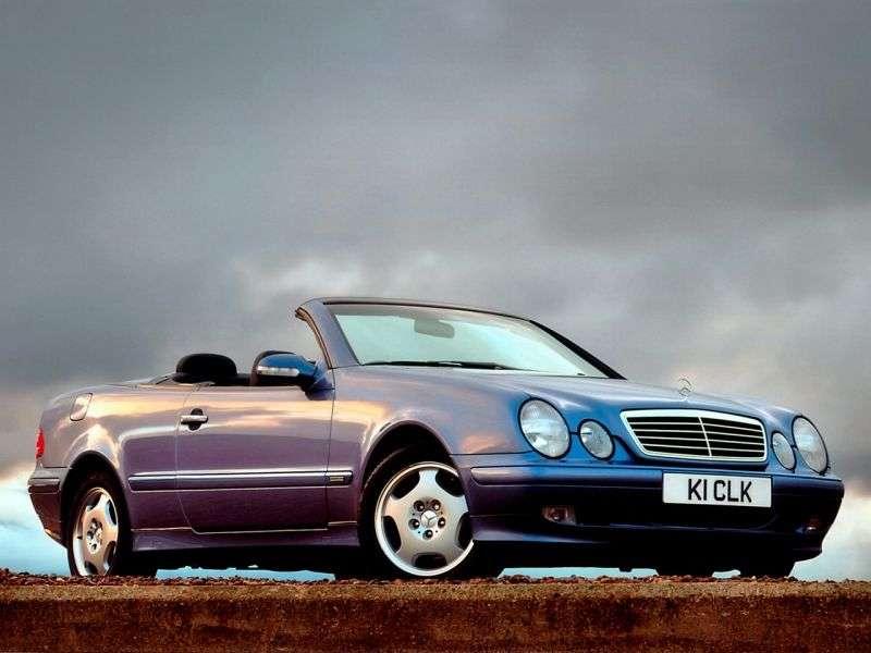 Mercedes Benz CLK Class W208 / A208 cabrio CLK 200K MT (2000–2002)