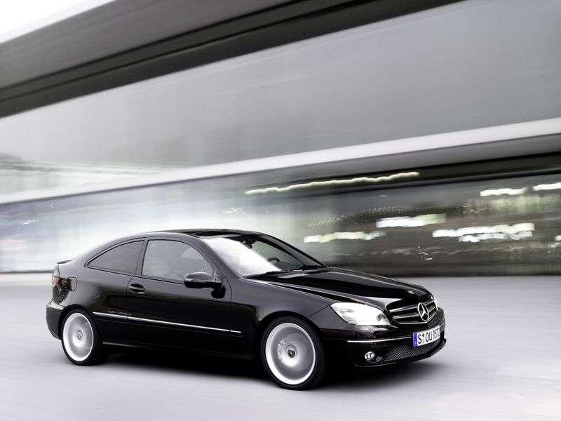 Mercedes Benz CLC Class CL203 restyled coupe CLC 200K MT (2008–2010)