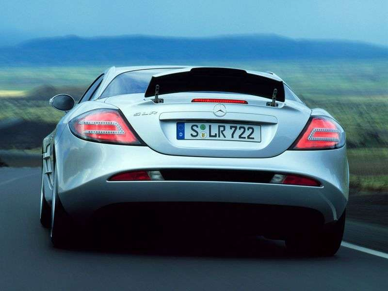 Mercedes Benz SLR Class C199 Coupe 5.4 AT (2003–2007)
