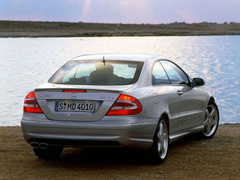 Mercedes Benz CLK Class C209 / A209AMG Coupe 2 dv. CLK 55 AMG AT (2003–2006)