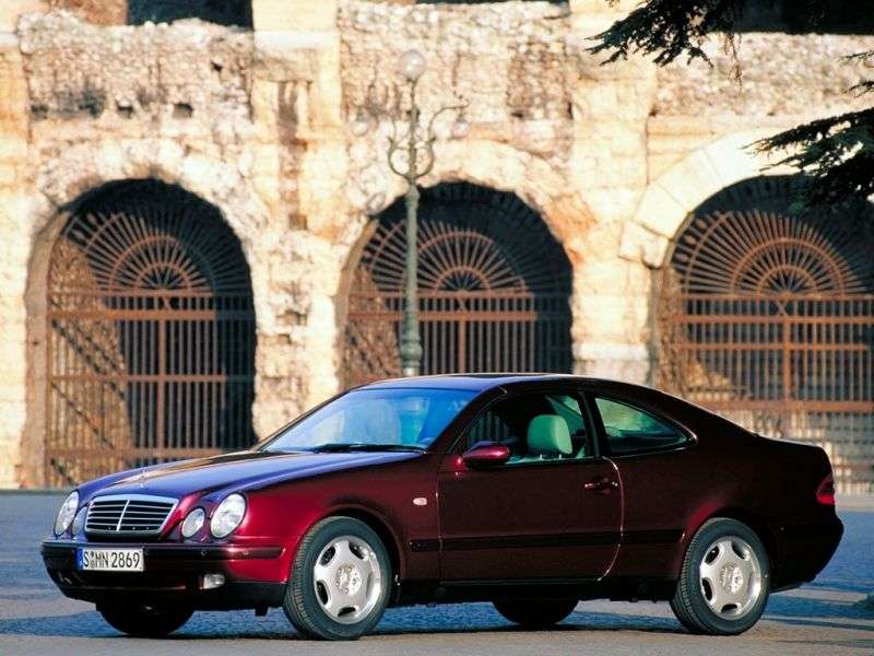 Mercedes Benz CLK Class W208 / A208 coupe CLK 200K MT (1997–1999)