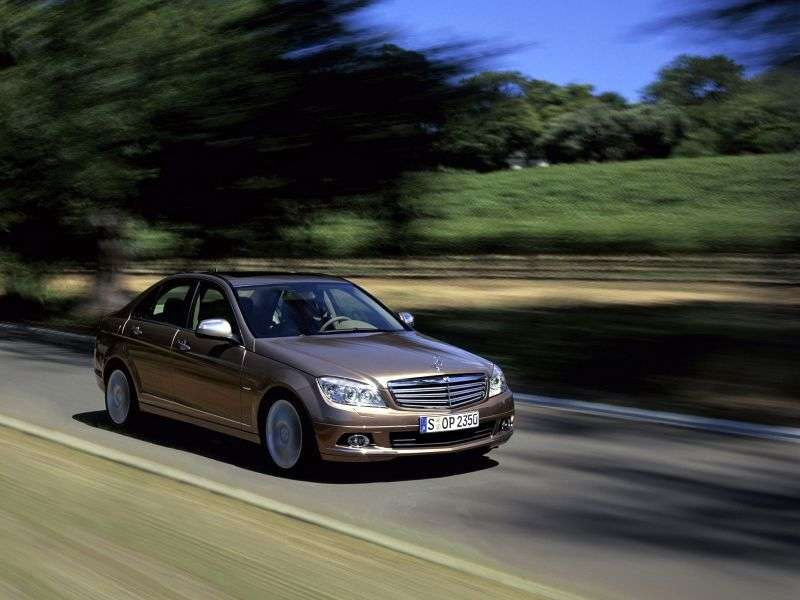 Mercedes Benz C Class W204 / S204sedan 4 bit. C 300 MT (2009–2010)