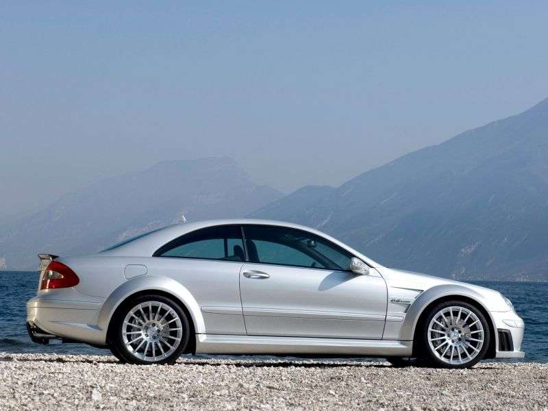 Mercedes Benz CLK Class C209 / A209AMG Black Series Coupe 2 bit. CLK 63 AMG Black Series AT (2007–2009)
