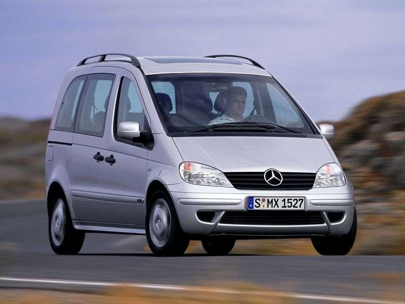 Mercedes Benz Vaneo W414minivan 1.9 MT (2001–2006)