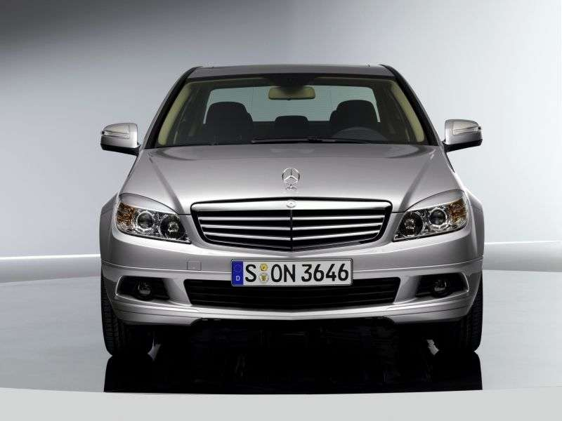Mercedes Benz C Class W204 / S204sedan 4 bit. C 180 Kompressor MT (2007–2008)