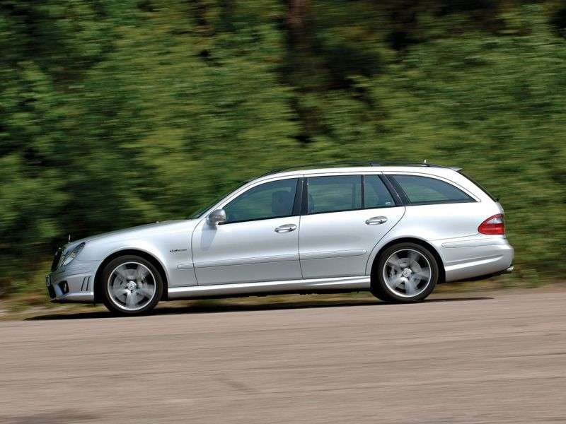 Mercedes Benz E Class W211 / S211AMG station wagon E 55 AT AMG (2002–2006)