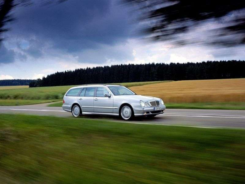 Mercedes Benz E Class W210 / S210AMG station wagon E 55 AT AMG 4MATIC (1999–2002)
