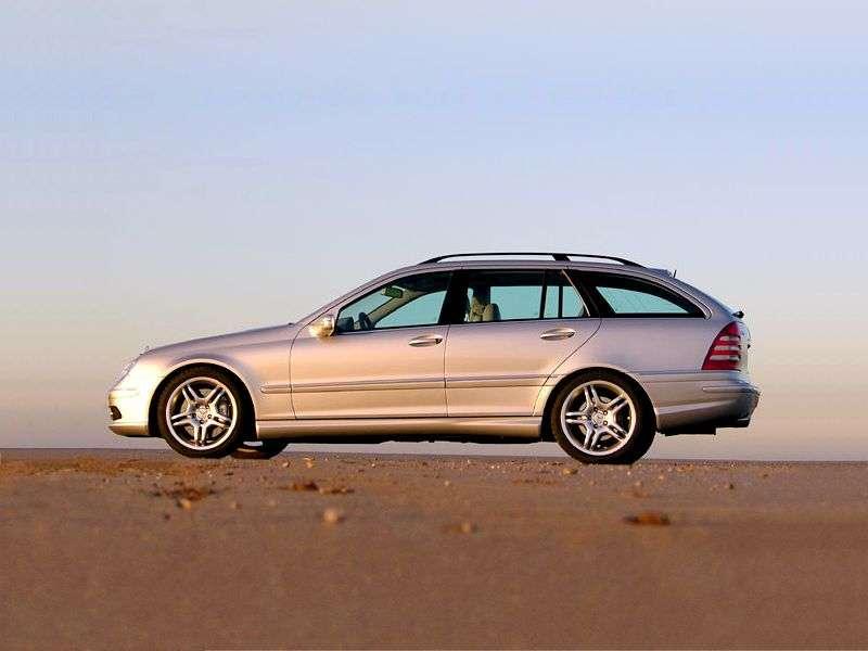 Mercedes Benz C Class W203 / S203 / CL203 [restyling] AMG station wagon 5 dv. C 55 AMG SPEEDSHIFT (2004–2007)