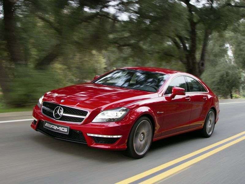 Mercedes Benz CLS Class C218 / X218AMG Coupe 4 bit. CLS 63 AMG 4Matic S Modell Speedshift MCT Basic (2013 – pred.)