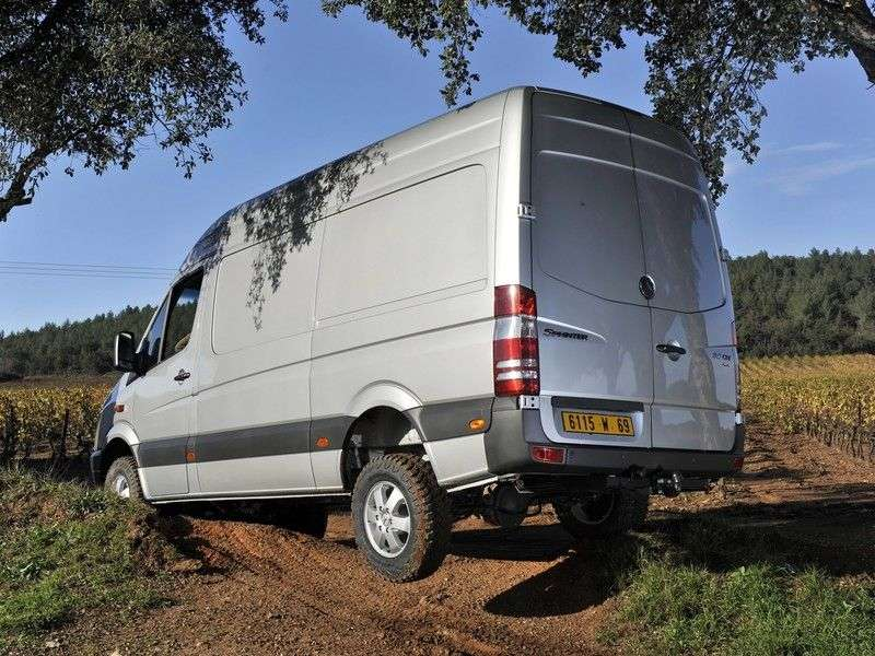 Mercedes Benz Sprinter W906 van 315 CDi MT extra long base ultra high base roof (2006 – n.)