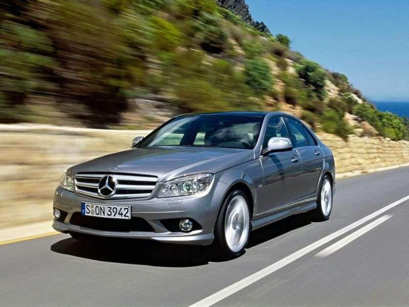 Mercedes Benz C Class W204 / S204sedan 4 bit. C 280 MT (2007–2009)