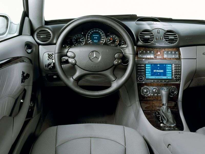 Mercedes Benz CLK Class C209 / A209 coupe 2 bit. CLK 200K MT (2002–2006)
