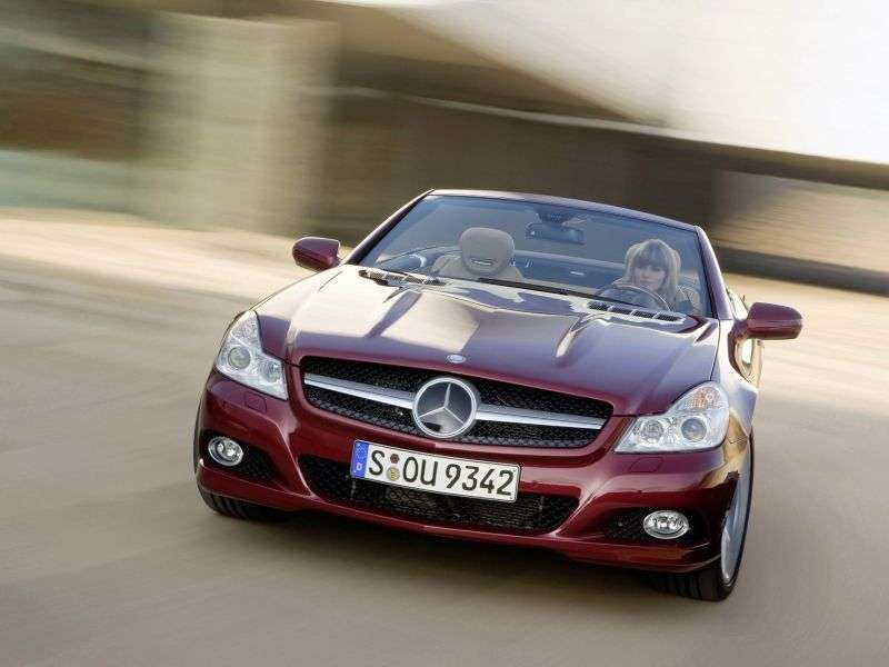 Mercedes Benz SL Class R230 [restyling] 2 bit roadster SL 600 AT (2008–2012)