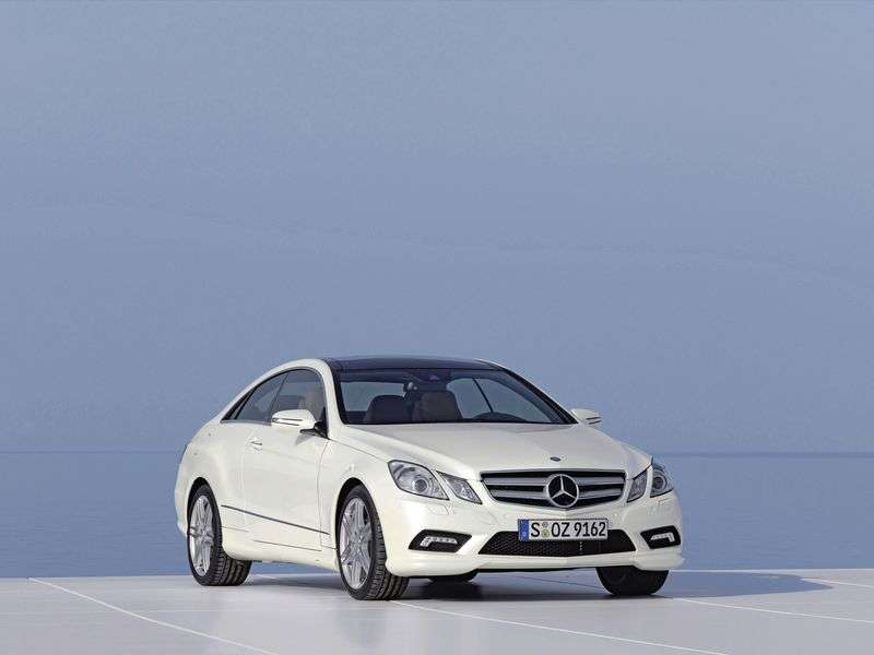 Mercedes Benz E Class W212 / S212 / C207 / A207 Coupe E 200 CGI BlueEfficiency AT Special Series (2010–2013)