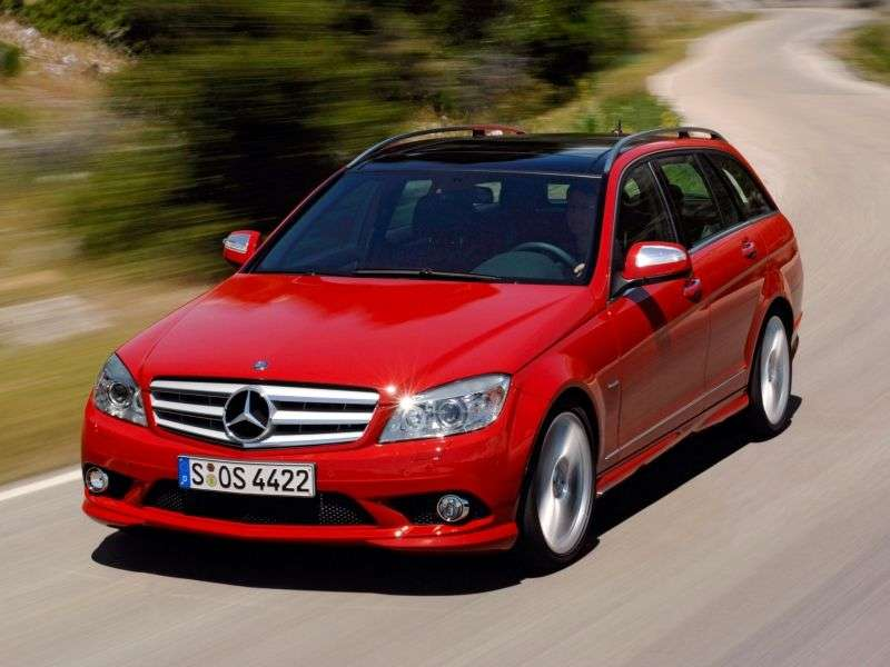 Mercedes Benz C Class W204 / S204universal 5 bit. C 220 CDI BlueEFFICIENCY AT (2009–2010)