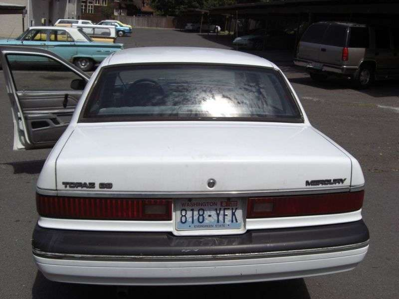 Mercury Topaz 1st generation 4 door sedan 2.3 AT (1984–1985)