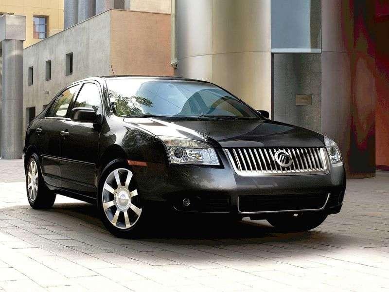 Mercury Milan 1st generation 2.3 MT sedan (2006 – n.)