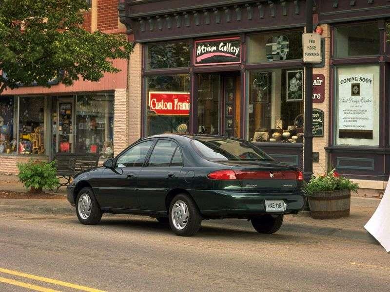Mercury Tracer 1st generation sedan 1.9 MT (1988–1997)
