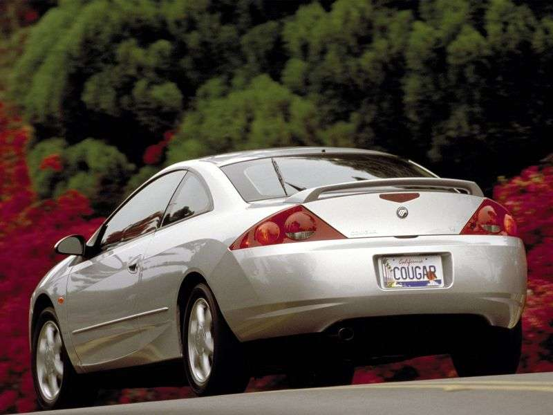 Mercury Cougar 1st generation coupe 2.5 MT (1998–2002)