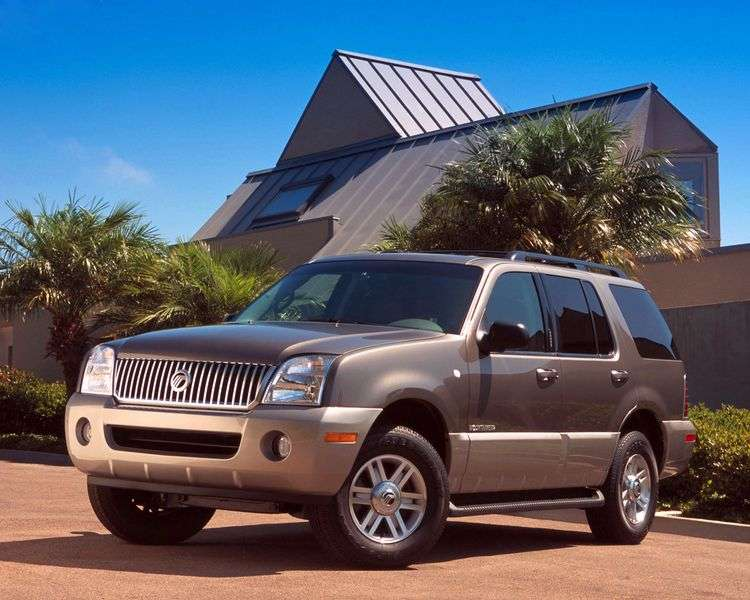 Mercury Mountaineer 1st generation crossover 4.0 AT AWD (1998 – n.)