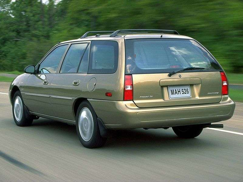 Mercury Tracer 1st generation wagon 1.9 MT (1988–1997)