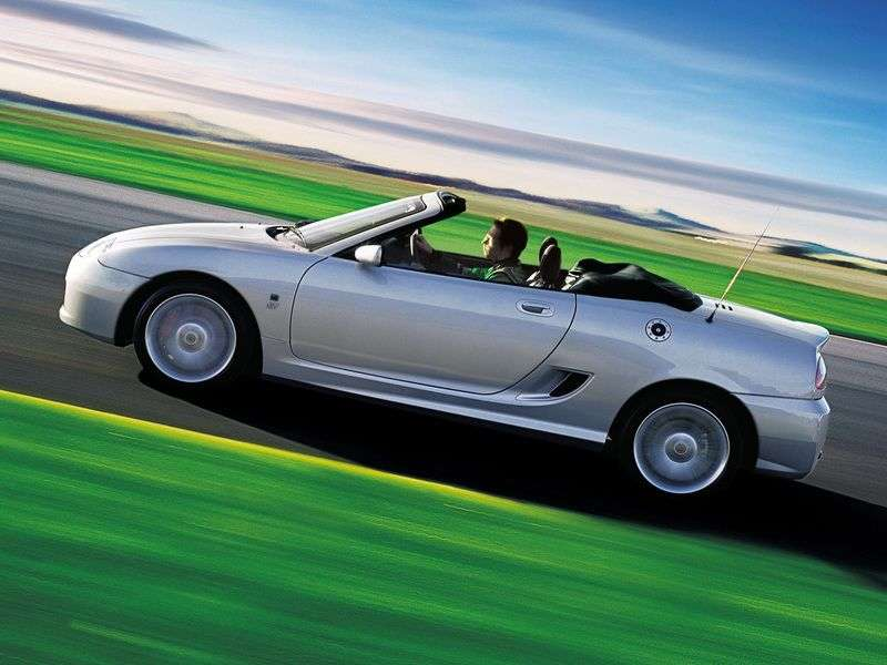 MG TF 1st generation convertible 1.8 CVT (2002–2005)