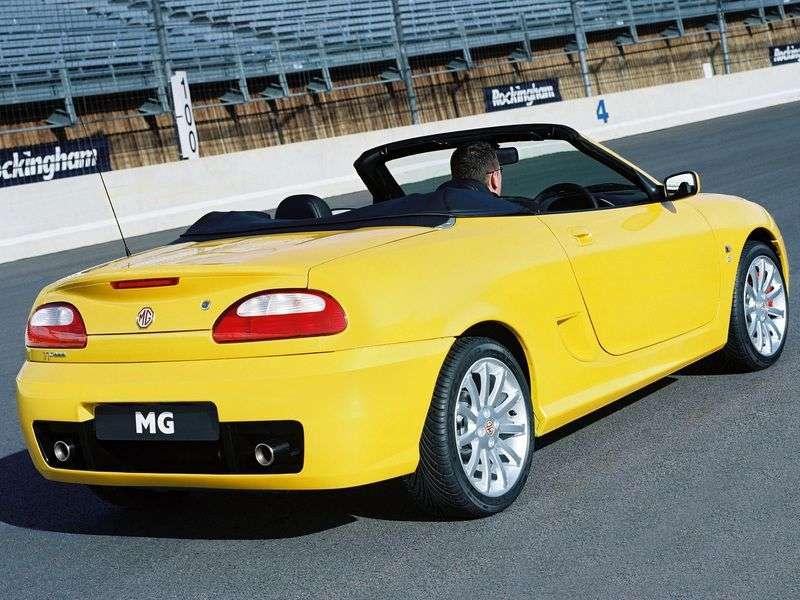 MG TF 1st generation 1.6 MT convertible (2002–2005)
