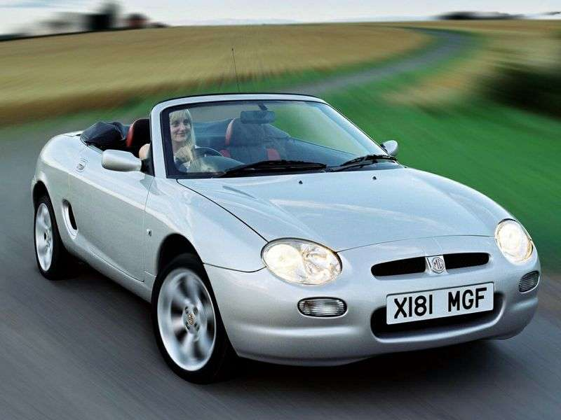 MG F 1st generation 1.8 MT convertible (1995–2000)